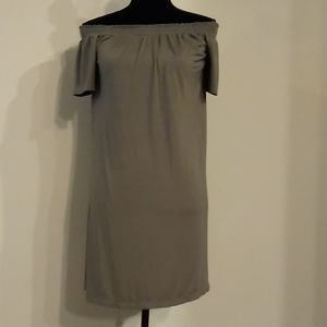 Sage green, sized S dress